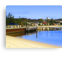 Jetty at Port Vincent Canvas Print