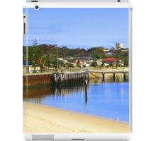 Jetty at Port Vincent iPad Case/Skin