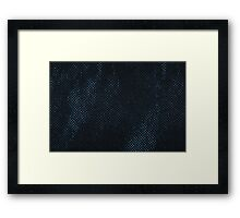 Reusable eco bag texture Framed Print
