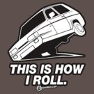 """Top Gear - Reliant Robin """"This is how I roll."""" by TopGearbox"""