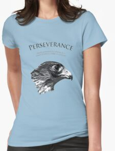 Peregrine Falcon Womens Fitted T-Shirt