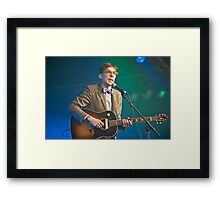 Justin Townes Earle Framed Print