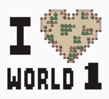 I Heart World 1 by Baardei