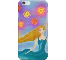 Sea and Sun Girl iPhone Case/Skin