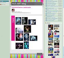 Fav Artist Feature - Aust Art Group, Deviant Art. by Adara Rosalie