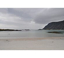 A grey day on a beautiful island. Photographic Print