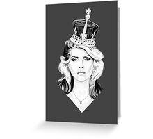 Debbie Harry Greeting Card