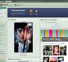 Aust Art Daily Deviation Feature by Adara Rosalie