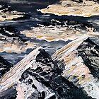 Evening Mountains by James McKenzie