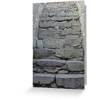 The Great Wall Series - at Mutianyu #11 Greeting Card