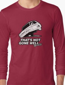 """Top Gear - Reliant Robin """"That's not gone well.."""" Long Sleeve T-Shirt"""