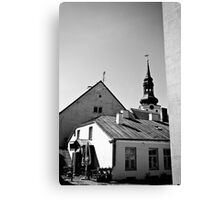 Old Town, Toompea Canvas Print
