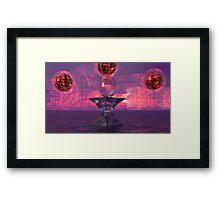 Spheres  of Creation Framed Print