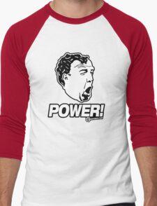 Top Gear - Jeremy Clarkson POWER!! Men's Baseball ¾ T-Shirt