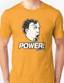 Top Gear - Jeremy Clarkson POWER!! Unisex T-Shirt