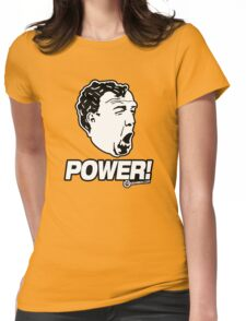 Top Gear - Jeremy Clarkson POWER!! Womens Fitted T-Shirt