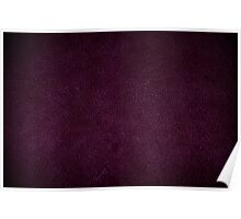 Dark purple leather sheet texture abstract Poster