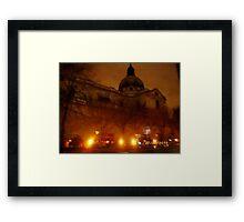London: Famous Buildings: Holy Trinity Church, Brompton -(270111)- Praktica DPix 1000z 10MP Framed Print