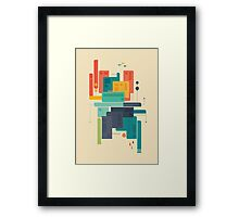 Meet Me At The Bridge Framed Print