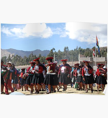 Peruvian women Poster