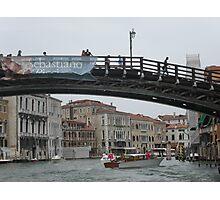VENEZIA e il Ponte dell' Accademia- ITALY - EUROPA - 1700 VISUALIZZAZ A MAGGIO 2013-VETRINA  rb explore 24 novembre 2012 ! Photographic Print