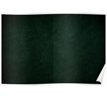 Dark green leather sheet texture Poster