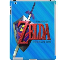Legend Of Zelda Ocarina Of Time iPad Case/Skin