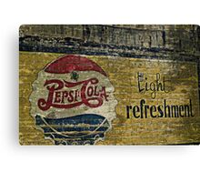 Pepsi Cola Canvas Print