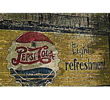 Pepsi Cola Photographic Print