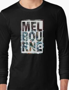 Melbourne (Alternative Version) Long Sleeve T-Shirt