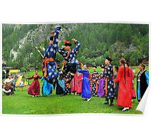 Uzbeki dancers Poster