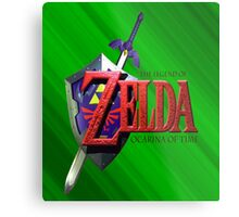 Legend Of Zelda Ocarina Of Time Metal Print