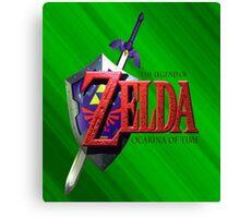 Legend Of Zelda Ocarina Of Time Canvas Print