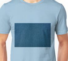 Blue rough cardboard texture abstract Unisex T-Shirt