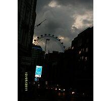 London: Famous Sights: London Eye -(270111)- Digital photo Photographic Print