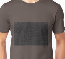 Grey striped parchment texture abstracts Unisex T-Shirt
