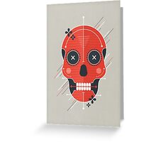 Skull Greeting Card