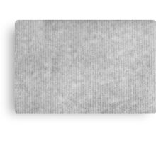 Grey striped parchment texture abstract Canvas Print