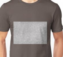 Grey striped parchment texture abstract Unisex T-Shirt