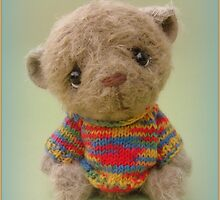 Chepcher - Handmade bears from Teddy Bear Orphans by Penny Bonser