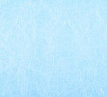Blue creased cardboard texture  by Arletta Cwalina