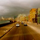 Stormin' Along The Malecon, Havana by Danielle Hall