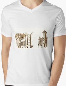 old town Mens V-Neck T-Shirt