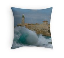 El Moro, Havana Throw Pillow