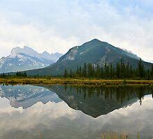 Vermillion Lakes by Elizabeth Faulkner LRPS