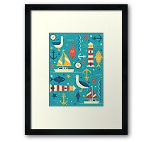 All At Sea Framed Print
