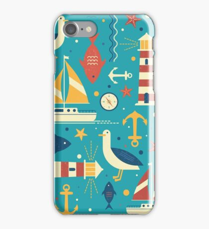 All At Sea iPhone Case/Skin
