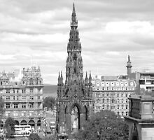 Scots Monument - Edinburgh by AmandaJanePhoto
