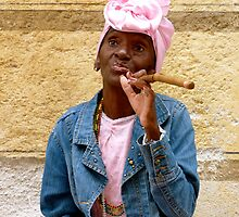 Cigar Lady, Havana by Danielle Chappell-Hall