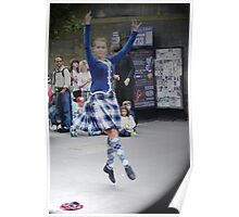 Scottish Dancer Poster